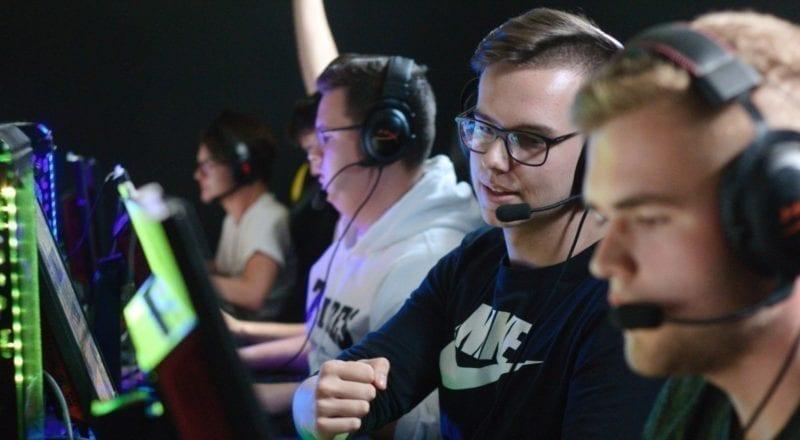 Spillere ved en turnering