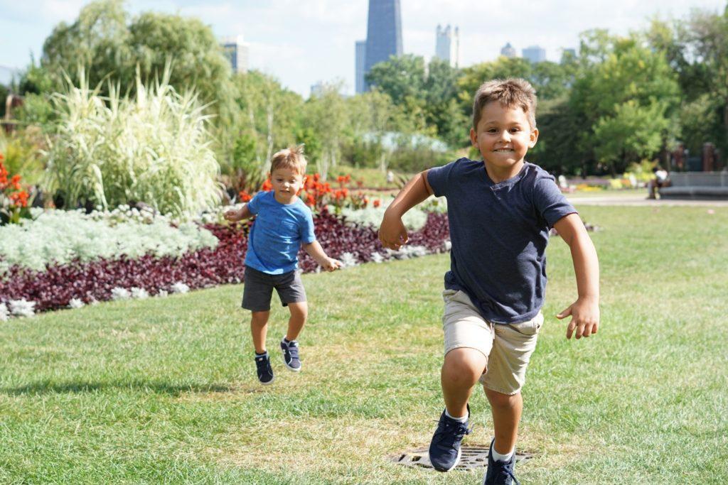 Familievenlig event: Stedet kan være så enkelt som en park.